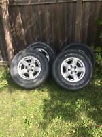Ford Ranger Tire and Rims