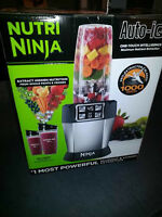 Nutri Ninja Auto iQ - New in Box $175