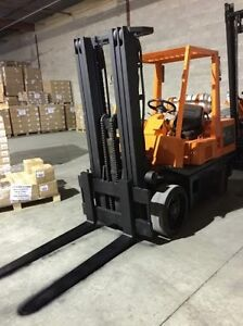 Campbell Industrial Auction surplus forklifts autos May29 noon