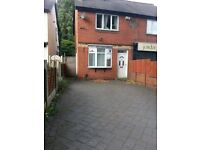 Room to rent; bedroom with private living area within a friendly Wednesbury house-share. NO DEPOSIT