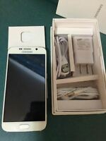 New Samsung Galaxy S6 64GB  White Pearl, Unlocked
