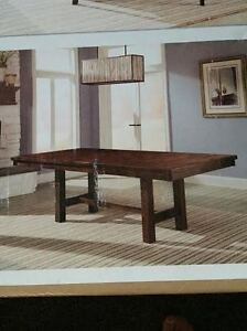 New Solid Hardwood Dining Table - Chairs NOT included