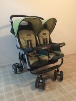 Peg Perego Aria 60/40 side-by-side double stroller