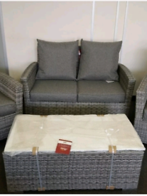 1 sofa and 1 coffee table