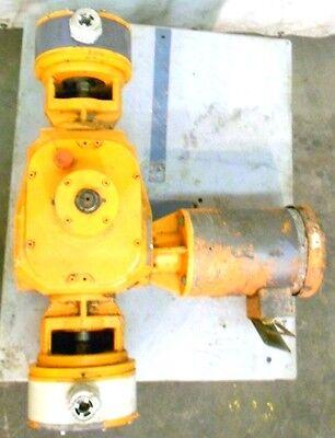 Prominent Pumpstrainer With Baldor Motor Vm3554 1 12hp 1725rpm 3 Ph No Cap