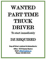 Dump Truck Driver Required immediately
