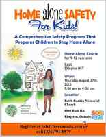 Home Alone Safety for Kids Class