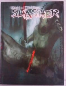 World of darkness slasher hardcover game book