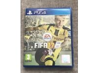 Grand theft auto and Fifa 17 ps4