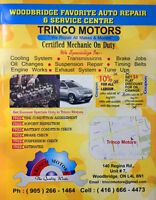 TRINCO MOTORS  - WE REPAIR ALL MAKES & ALL MODELS !!! FREE STUFF