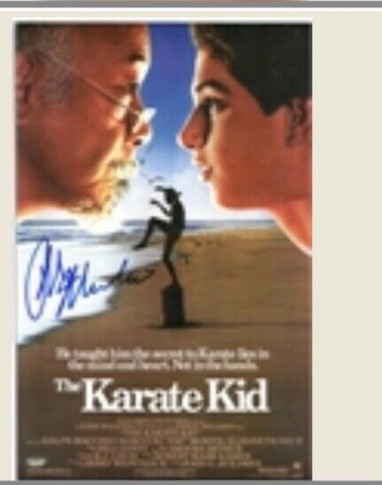 Ralph Macchio autograph Karate Kid
