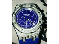 EXCLUSIVE high quality iced out audermars piguet watches