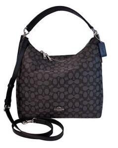 Coach F55365 Outline Signature Celeste Hobo Shoulder Crossbody Bag