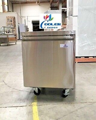 New 27 Commercial Under Counter Freezer 2 Door Model Tuc27f Restaurant Bar Nsf