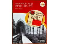 HODDER GIBSON NEW HIGHER HISTORY MIGRATION AND EMPIRE 1830-1939