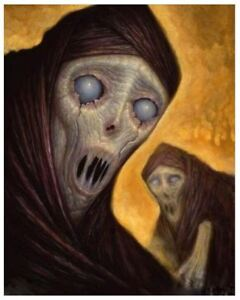 CHET ZAR Painting (Oil on Canvas) GHOSTS Limited Edition