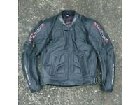 RST motorcycle leather/textile jackets and trousers