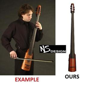 NEW* NS DESIGNS NXT4A DOUBLE BASS - 119266951 - SUNBURST WITH TRIPOD STAND