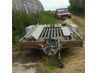 17 foot heavy duty car trailer