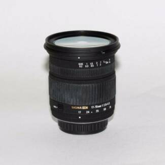 Sigma 17-70MM F2.8-4.5 CANON MOUNT Lens