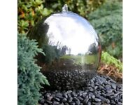 50cm Stainless Steel Ball water feature