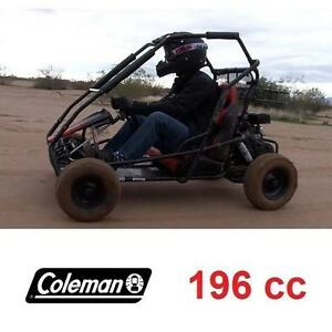 NEW* COLEMAN 196cc GAS GO-KART - 128055979 - GAS POWERED GO KART DUNE BUGGY RIDE ON RIDE-ON CAR CARS OFFROAD RACER RA...