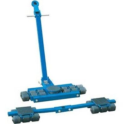 New Steerable Machinery Moving Skate Roller Kits 18 Ton Capacity