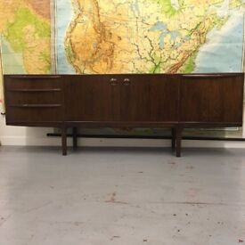 AH McIntosh Rosewood Sideboard. In Dunfermline for viewing.