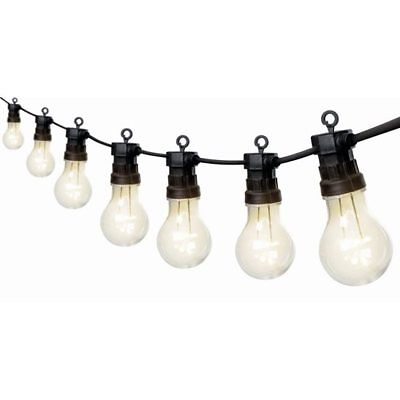 20 Warm White Traditional Multi Function Festoon Party Lights 9.5m