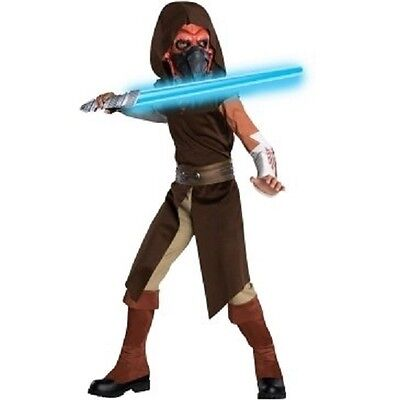 NEW Star Wars Plo Koon Clone Wars Costume Dress Up 4-6 Carnival Halloween