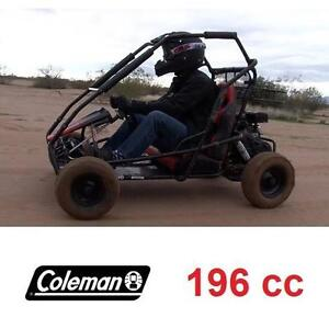 USED* COLEMAN 196cc GAS GO-KART - 122650021 - GAS POWERED GO KART DUNE BUGGY RIDE ON RIDE-ON CAR CARS OFFROAD RACER R...