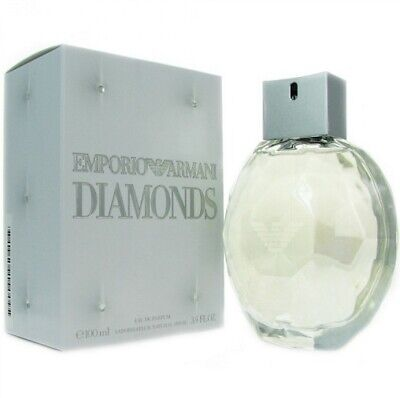 Giorgio Armani Emporio Armani Diamonds Women Perfume EDP 3.4 oz ~ 100 ml Spray