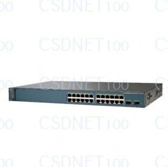New Original Cisco Ws-c3560v2-24ps-s 24 10/100 Ports Gigabit Ethernet Switch