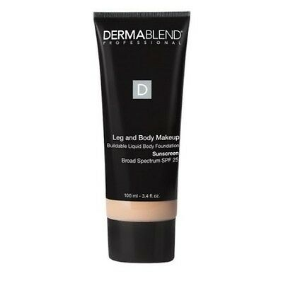 Dermablend Leg and Body Makeup Body Foundation SPF 25 - Light Sand 25W - 3.4 oz