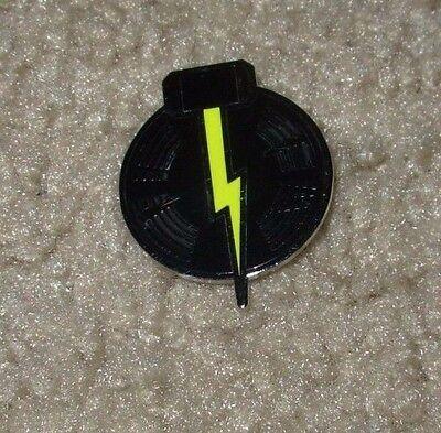 THIRD MAN RECORDS Logo Lightning Hammer Pin New Nashville Jack White stripes