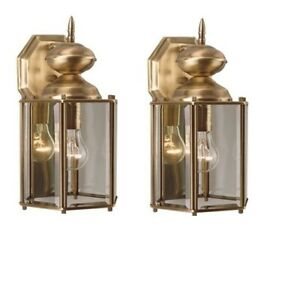 "On Sale!1 set of H:12.25"" 1 Light Outdoor Wall Lantern-Brand New"