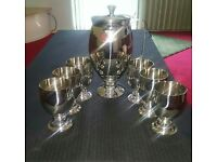 Stylish stainless steel Water set