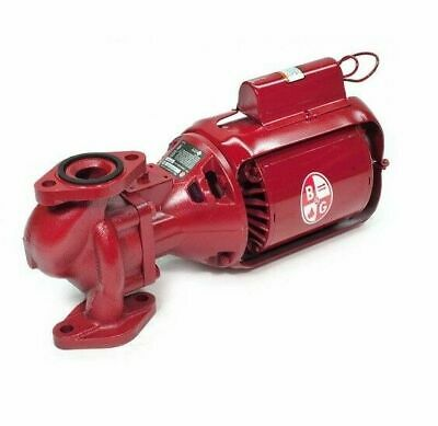 Bell Gossett 106189 Series 100 Nfi Inline Circulator Pump 100nfi