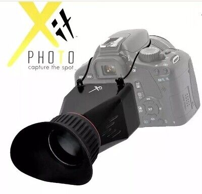 Xit XTLCDMVL Professional Locking LCD Viewfinder with 3.4X Magnification-New