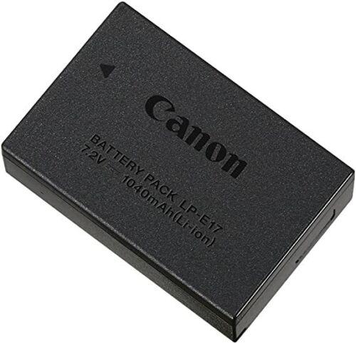 New Genuine Canon LP-E17 LPE17 Li-Ion Battery Pack (7.2v 1040mAh 7.5Wh )