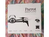 Parrot Bebop 2 with controller and fpv