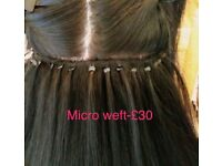 Hi I am doing hair extensions, colour and cuts