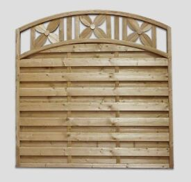 Jasmin Garden Fence Panel Pressure Treated 180cm x 180cm Call 0161 962 9127 Open 7 Days A Week