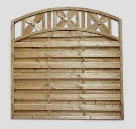 Jasmin Garden Fence Panel Pressure Treated 180cm x 180cm Call 0161 962 9127 Open 7 Days A Week