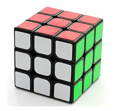 Best Cheap Cool Speed 3x3 3x3x3 Rubiks Rubix Cube Speed 3x3 3x3x3 Black