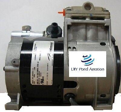 New Thomas 688ce44 Piston Air Compressorvacuum Pump Aerator 13hp Oem New