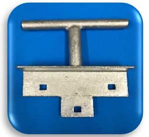 HDG T - CLEAT FOR DOCK (S) (dock hardware)