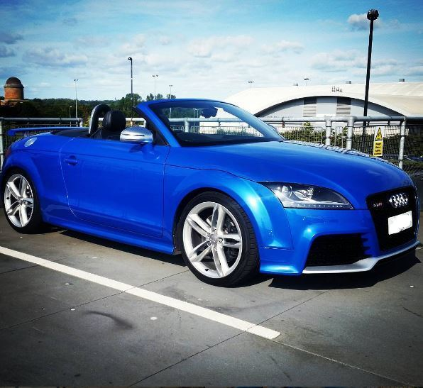 2009 2.0 Sprint Blue Audi TTS Roadster Convertible TTRS