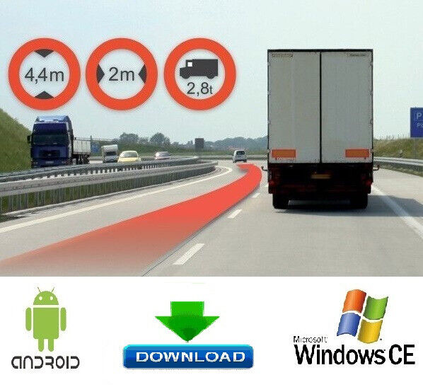 iGO Truck / Lorry with Europe Map 2019/04 For devices Windows CE / Android  - PROVIDED BY THE LINK | in Westminster, London | Gumtree