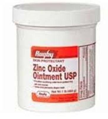 Zinc Oxide Ointment ***RUG, 1 LB (3 Pack) + Makeup Sponge